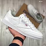 Мужские кроссовки Reebok Club C (белые), фото 2