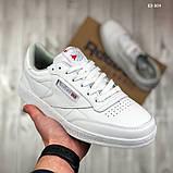 Мужские кроссовки Reebok Club C (белые), фото 3