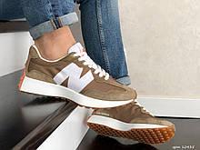 Мужские кроссовки New Balance 327 коричневые