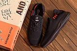 Чоловічі кросівки літні сітка BS Black Line, фото 8