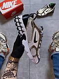 Жіночі кросівки Nike Air Zoom Spiridon Cage 2 Stussy Pure Platinum., фото 5