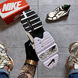 Жіночі кросівки Nike Air Zoom Spiridon Cage 2 Stussy Pure Platinum., фото 8