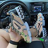 Жіночі кросівки Nike Air Zoom Spiridon Cage 2 Stussy Pure Platinum., фото 9