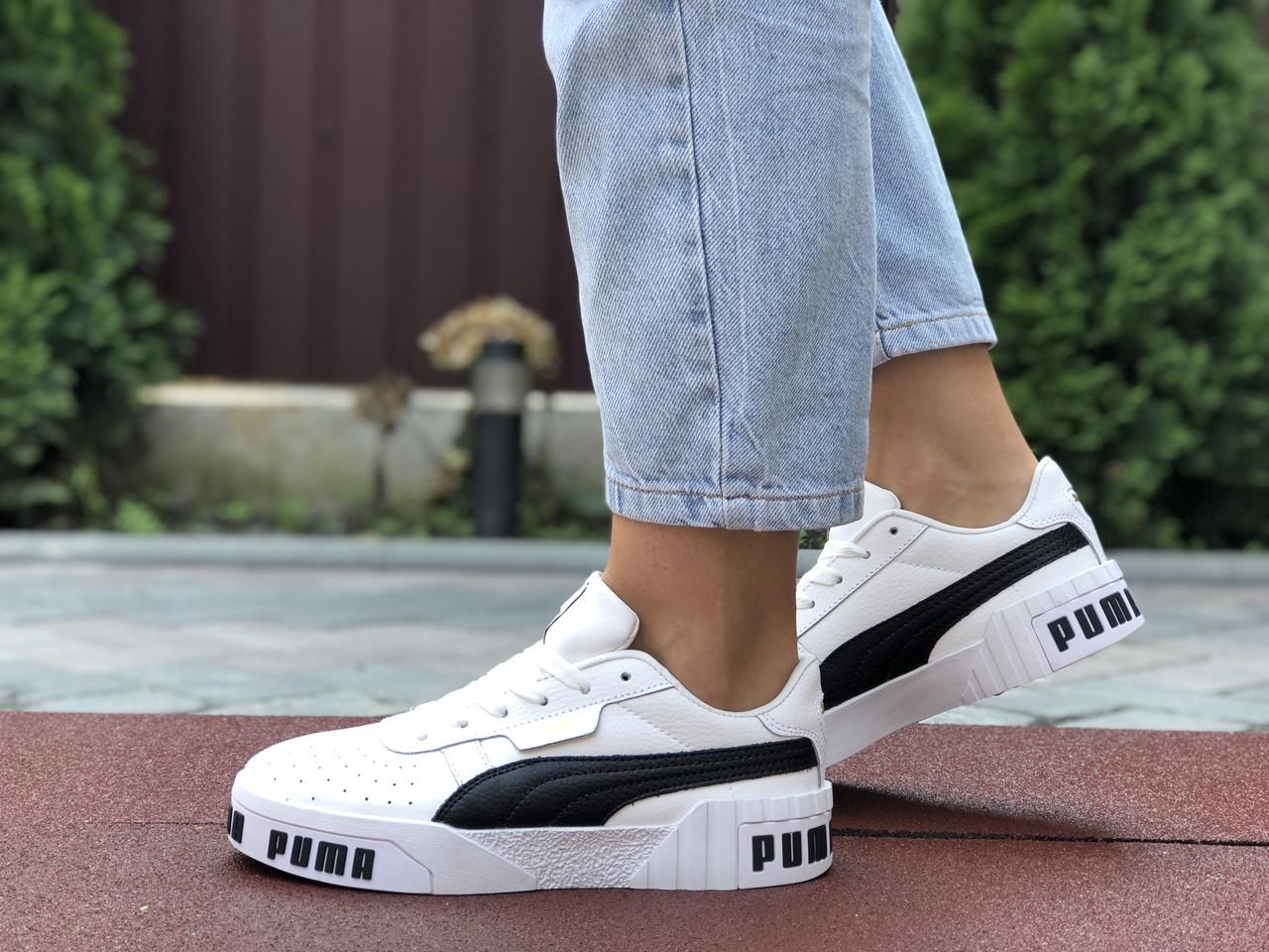 Жіночі кросівки Puma Cali Bold білі з чорним