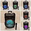 Колонка аккумуляторная с микрофоном  Kimiso QS-1204, фото 2