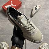 Чоловічі кросівки Puma Jogger Grey, фото 2