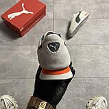 Чоловічі кросівки Puma Jogger Grey, фото 3
