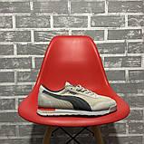 Чоловічі кросівки Puma Jogger Grey, фото 5