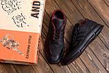 Чоловічі шкіряні кросівки YAVGOR Black, фото 10