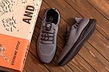 Мужские летние кроссовки сетка BS Grey Line, фото 8