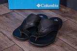 Мужские кожаные  летние шлепанцы-сланцы  Columbia  (;), фото 9