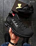Мужские кроссовки Reebok DMX черные, фото 4