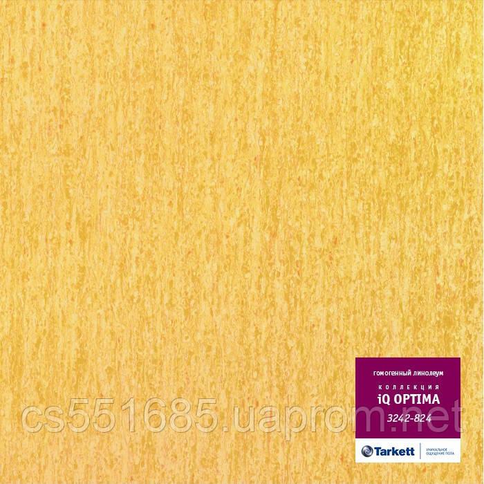 3242 824 - коммерческий линолеум гомогенный 34 класс, коллекция линолеум IQ Optima (Оптима) Tarkett (Таркетт)