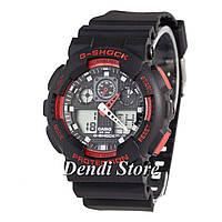 Часы Casio G-Shock GA-100B Black/Red