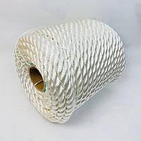 Канат капроновий ø 8 мм - 50 м поліамідний, кручений