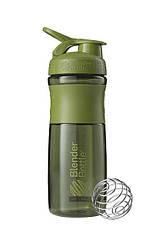Спортивна пляшка-шейкер BlenderBottle SportMixer 28oz/820ml Moss Green (ORIGINAL)