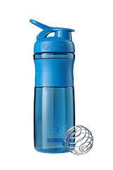 Спортивна пляшка-шейкер BlenderBottle SportMixer 28oz/820ml Cyan (ORIGINAL)