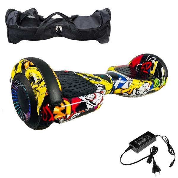 Гироскутер Гироборд 6,5 дюймів хіп хоп Smart Balance Гіроскутер автобаланс