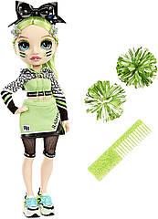 Кукла Rainbow High Cheer Jade Hunter Green Cheerleader - Рейнбоу Хай Черлидер Джейд Зеленая