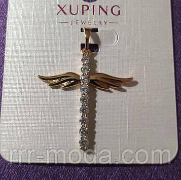 Позолоченные кресты Xuping оптом с камнями. 15