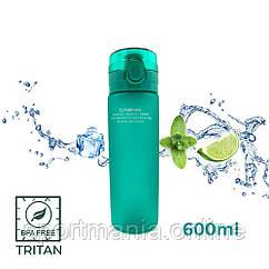 Пляшка для води CASNO 650 мл KXN-1157 Tritan Зелена