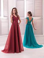 Вечернее платье для выпускных вечеров и свидетельниц (цвета - в ассортименте)