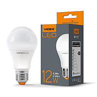 LED лампа VIDEX A60e 12W E27 3000K, фото 1