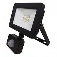 Прожектор світлодіодний Horoz Electric ASLAN/S-20 LED з датчиком руху 20Вт 1600Лм 2700К тепле світло
