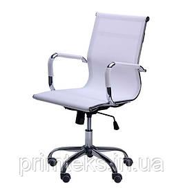 Кресло AMF Slim Net LB XH-633B Белый (Белая)