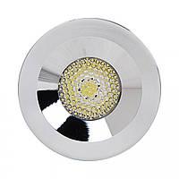 Светильник светодиодный Horoz Electric MIRANDA точечный врезной 3Вт 260Лм 4200K хром (016-004-0003)