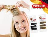 Невидимки для волос прямые 5 см золотистые 30 шт. TITANIA art.8061/A, фото 4