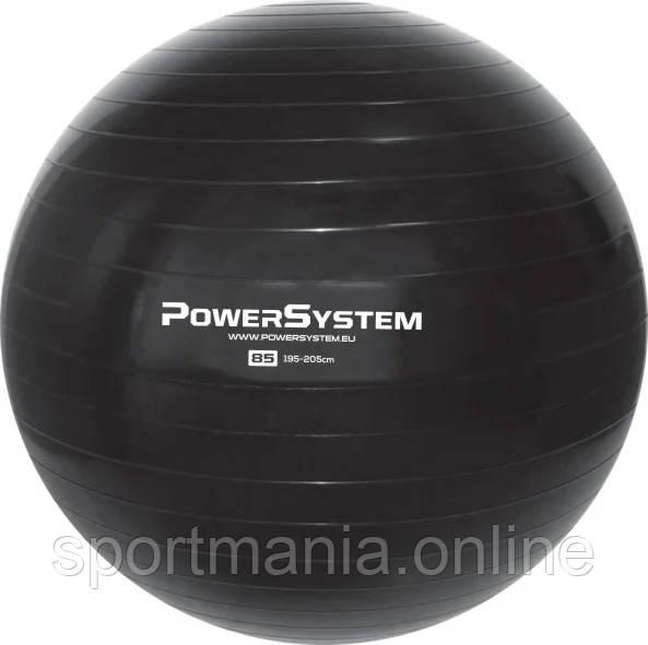 Мяч для фитнеса и гимнастики Power System PS-4018 85cm Black