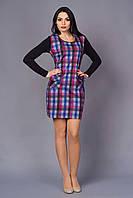 Элегантное и сдержанное платье с накладными карманами