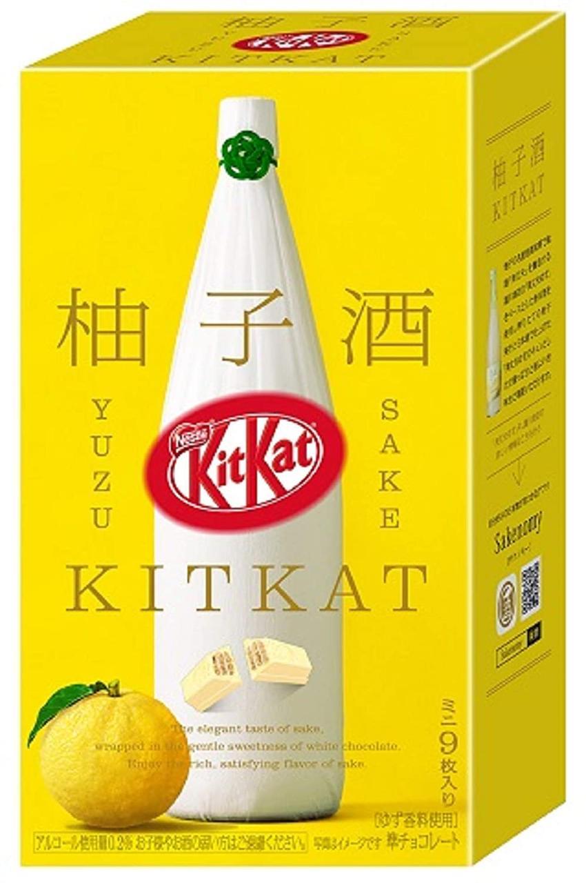 Kit Kat Yuzu Sake Упаковка 9s