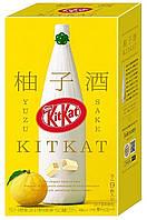 Kit Kat Yuzu Sake Упаковка 9s, фото 1