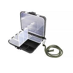Органайзер для риболовних снастей LEO 26109 Black 9 відсіків ящик літньої риболовлі