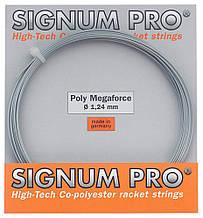 Теннисные струны Signum Pro Poly Megaforce 12.2 м Серый 115-0-3, КОД: 1639957