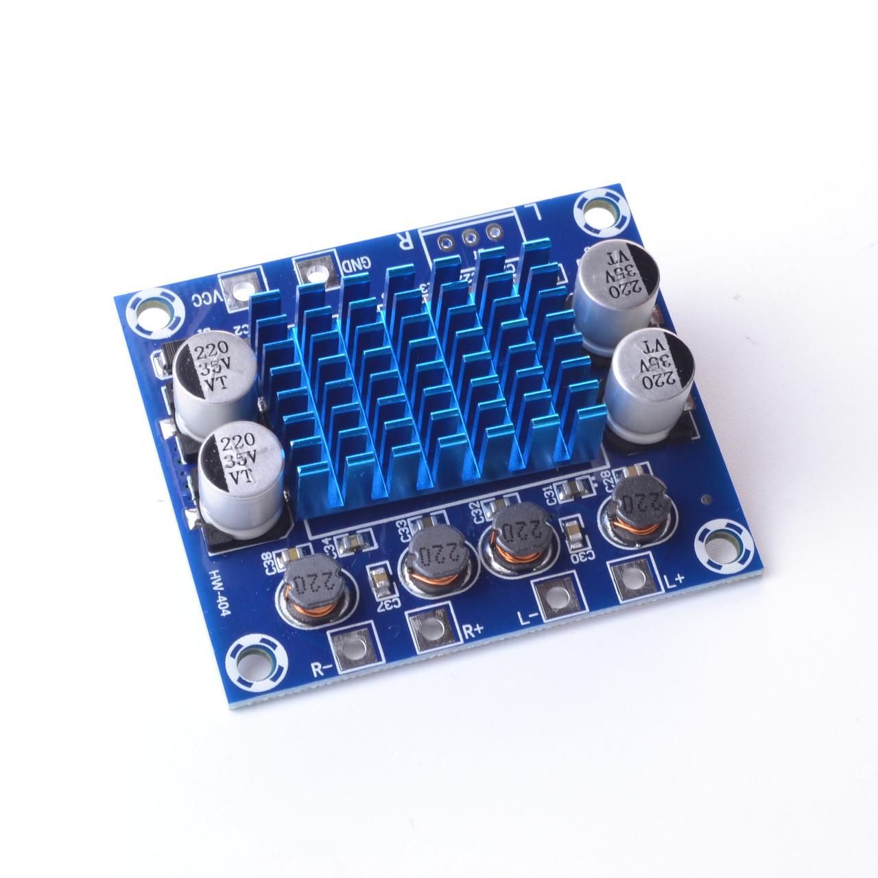 Звуковий підсилювач TPA3110 DC 8-26V XH-A232 30 Вт + 30 Вт 2,0 канальний цифровий стерео аудіо підсилювач