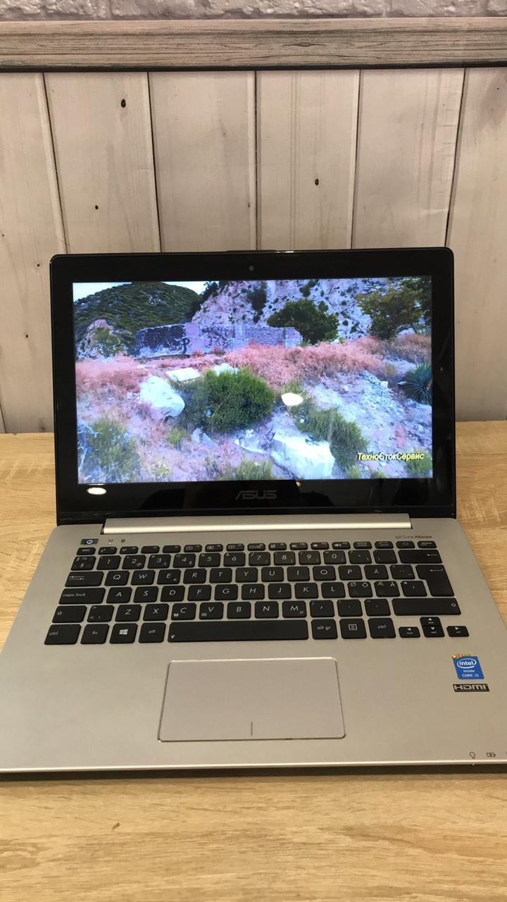 "Ноутбук 13"" Asus VivoBook S301LA (Intel Core i5-4200U 4x2.60Ghz\ 8Gb DDR3 1600Mhz\ HDD 500Gb\ IntelHD4400)"
