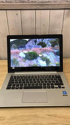 "Ноутбук 13"" Asus VivoBook S301LA (Intel Core i5-4200U 4x2.60Ghz\ 8Gb DDR3 1600Mhz\ HDD 500Gb\ IntelHD4400), фото 2"