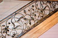 Купить кованые перила для лестницы