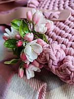 Набір для сумки Eden Rose, колір Чорний (пряжа - Антрацит меланж), фото 7