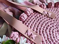 Набір для сумки Eden Rose, колір Чорний (пряжа - Антрацит меланж), фото 8