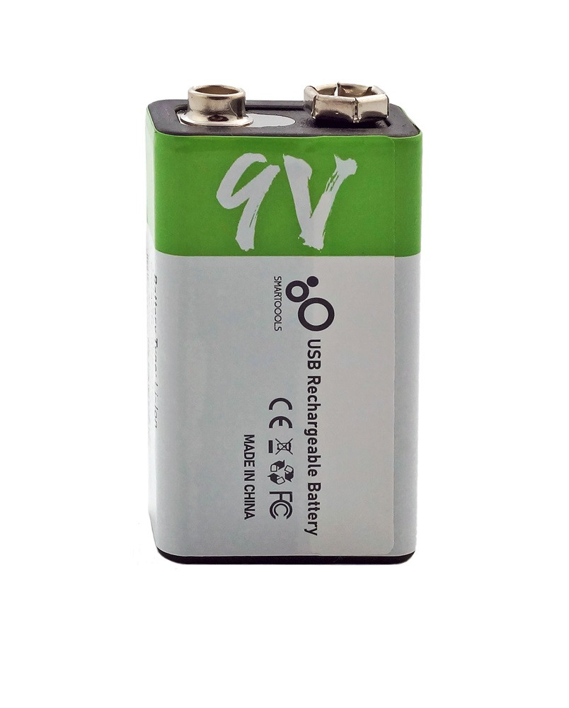 Батарейка акумулятор Крона 650 маг 9V вертикально