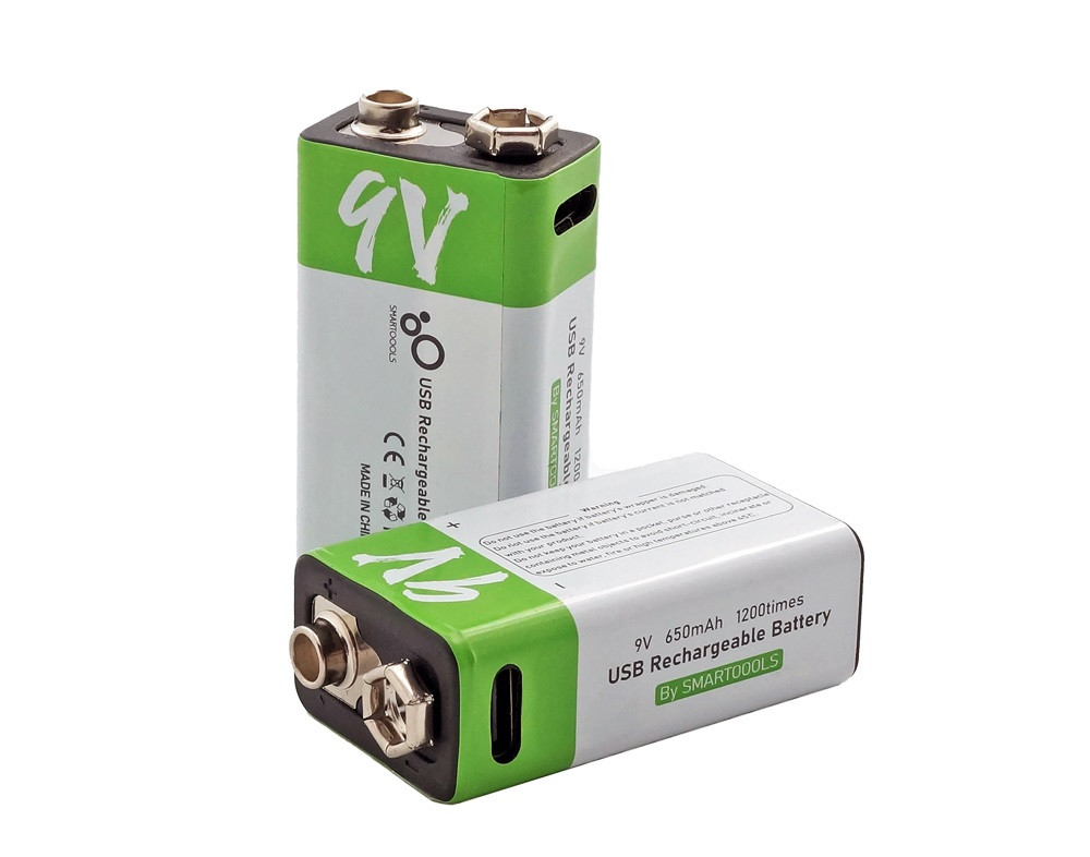 Батарейка акумулятор Крона 650 маг 9V дві штуки