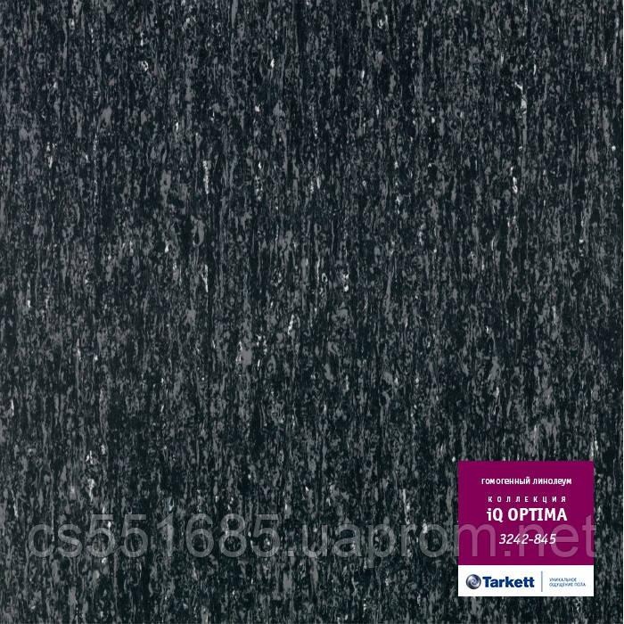 3242 845 - коммерческий линолеум гомогенный 34 класс, коллекция линолеум IQ Optima (Оптима) Tarkett (Таркетт)
