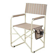 Кресло складное туристическое Vitan Режиссер (800х480х450мм), бежевое