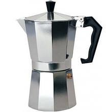 Гейзерная кофеварка Empire EM-9543 300 мл Серебристый 004412, КОД: 949646