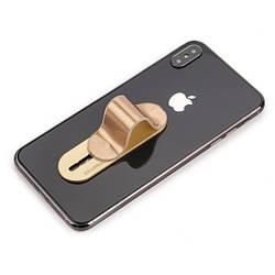 Держатель для телефона Momostick iSeries, золотой, лучше чем Попсокет и Кольцо!