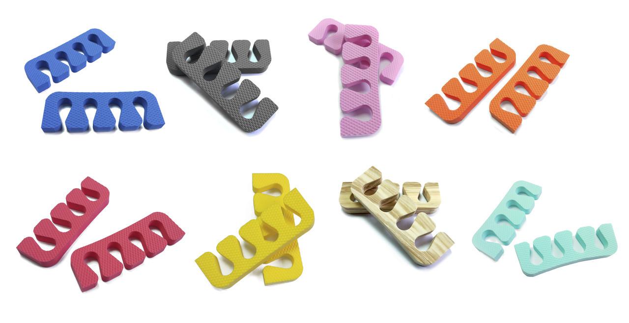 Растопырки для педикюра (разделители пальцев ног) Eva-Line( 200 шт)